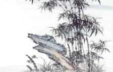 国画-竹图片