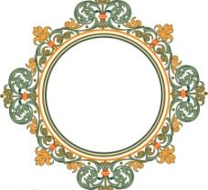 缎带画框精致装饰花纹图片