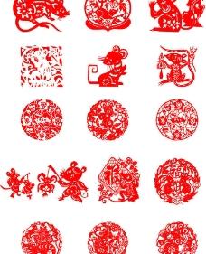 2020年鼠年年画图片 鼠年春节主题儿童画图片