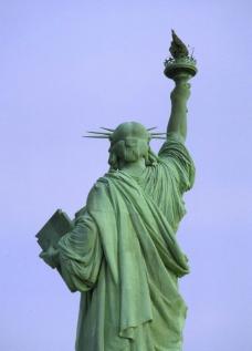 自由女神像吧背面图片