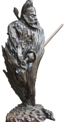木雕-钟魁图片