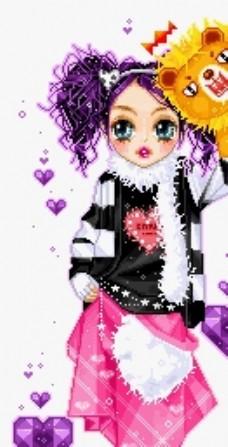 粉娃娃图片