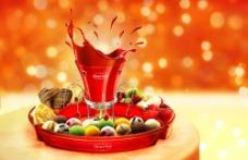 哈根达斯圣诞冰淇淋火锅图片