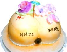 搞怪屁股造型生日蛋糕圖片