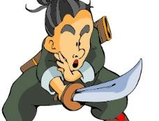 古代 卡通 人物004图片