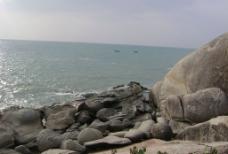 大海 奇异的石头 石头 奇石 异石图片