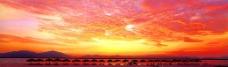 海南三亚黄昏图片