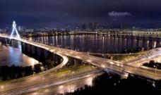 城市夜景图片