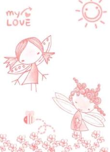 韩国可爱卡通涂鸦小刷