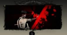 李小龙死亡游戏主题的产品片头