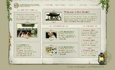 淡雅网页 旅游建筑 6psd 1个整站动画FLA图片