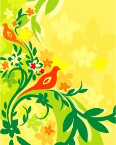 花艺饰品背景图片