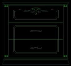 床头柜图块0006