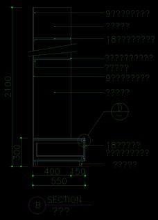 装饰柜详图0044