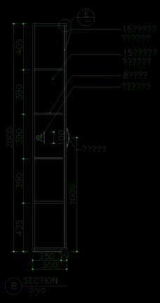装饰柜详图0015