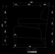 客房家具详图0043