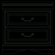 床头柜图块0004
