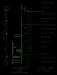 装饰柜详图0049