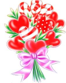 心型花束图片