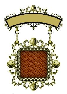 金属边框图片