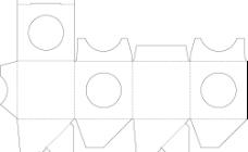 包装展开矢量图1图片