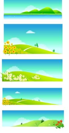 小山丘图片
