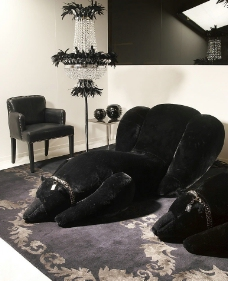 黑色时尚家居图片