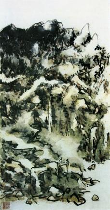 中国现代花鸟0178