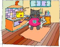 常见动物漫画0835
