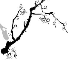 矢量梅花图片