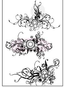 潮流花纹4图片