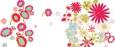 韩国时尚花形花边图片