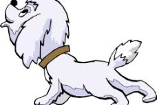 卡通狗图片