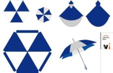 矢量 广告伞图片