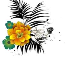 分层花草(原创)1图片