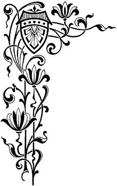 祥云黑白花纹贴图