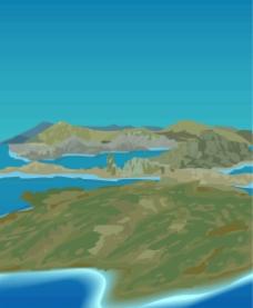 矢量岛屿图片