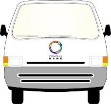 车辆广告VI模板0281