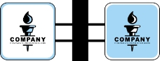 旗帜标示VI模板0099