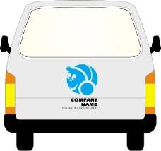 车辆广告VI模板0355