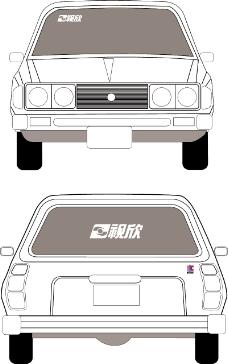 车辆广告VI模板0240