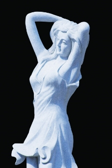 PSD雕塑50019