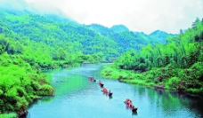 九鲤溪图片
