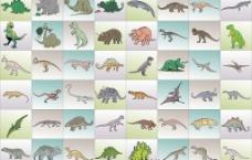 恐龙与怪兽图片