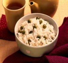 豌豆饭图片
