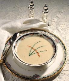 香草蘑菇奶油汤图片