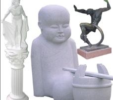 雕像库10图片