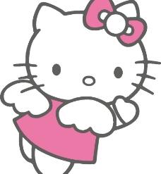 hello kitty矢量图片