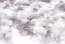 堆满云朵的天空图片