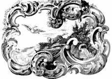 巴洛克纹饰图片